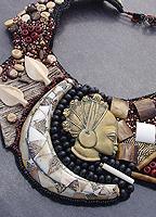 Alicante Chassagne : jewels, Paris bijoux d'art - Création de bijoux haute couture - Cristal, ivoire :  uniques perle perles colliers