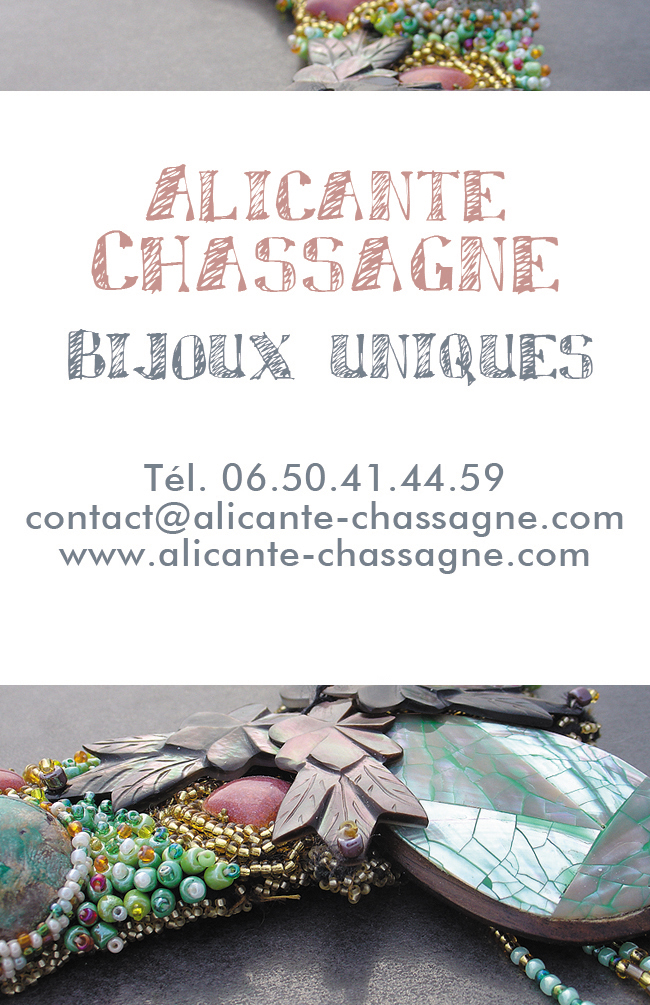 Alicante Chassagne Bijoux Uniques
